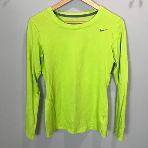 Women's Sz S Nike Dri-Fit LS T Shirt